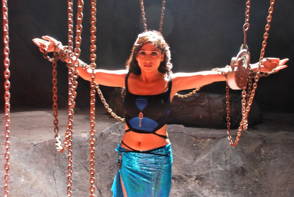 Pooja at a new music video for Venus.