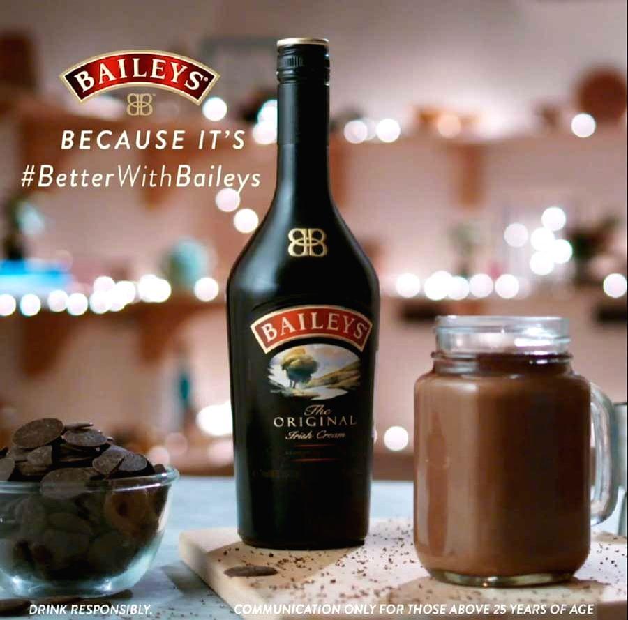 Pooja Dhingra's Bailey's Hot Chocolate.