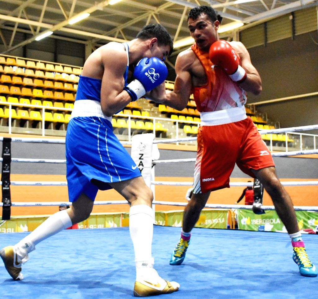 Pooja Rani defeats World Champion as nine Indian Boxers storm into the finals of Boxam International