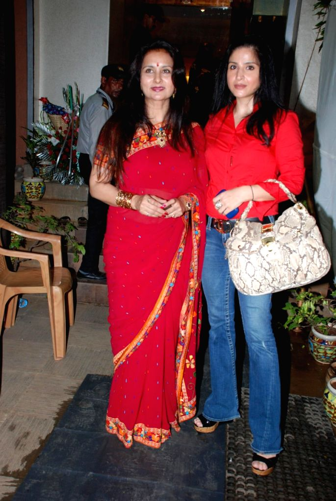 Poonam Dhillon at Neeta Lulla's Store in Mumbai.