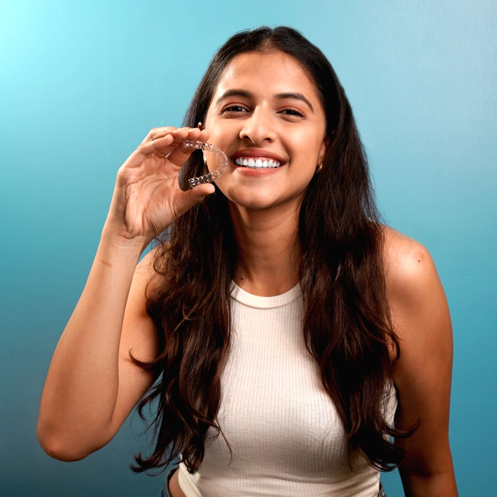 Popularisation of clear teeth aligners in India .