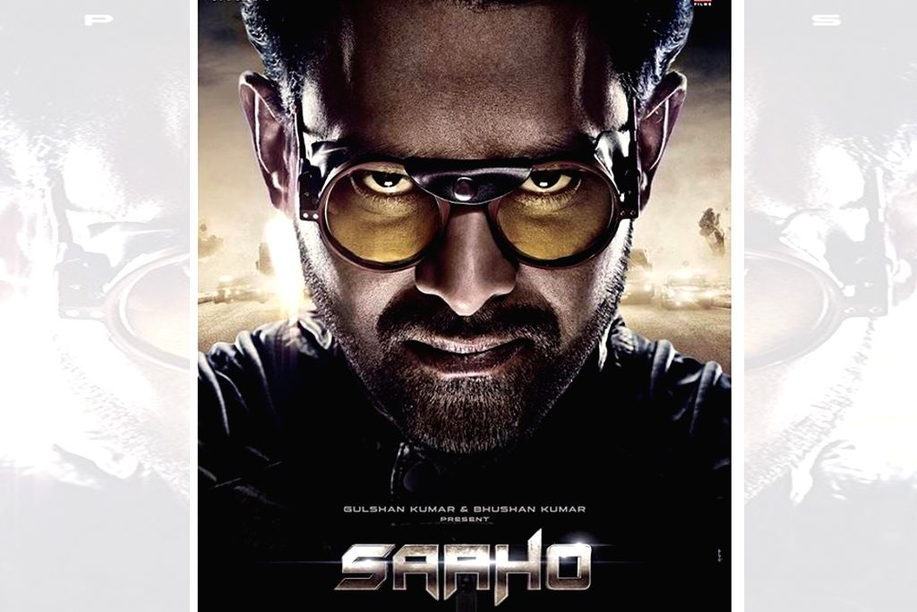 "Poster of film ""Saaho""."