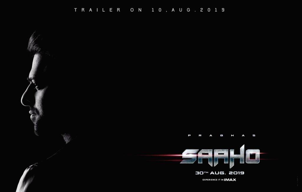 "Poster of Shraddha Kapoor and Prabhas starrer ""Saaho"". - Shraddha Kapoor"