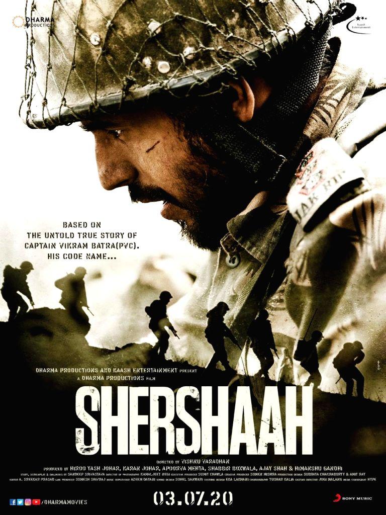"Poster of Siddharth Malhotra starrer ""Shershaah"" - Siddharth Malhotra"