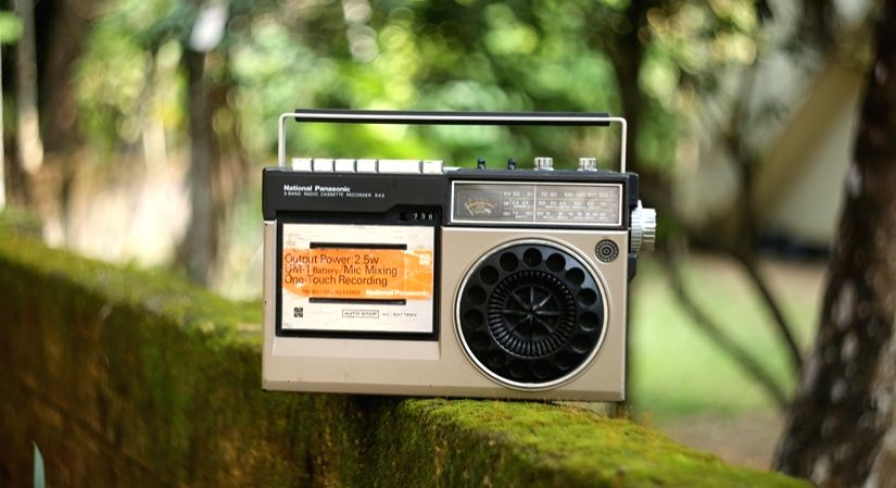 Power of radio for mental well-being.