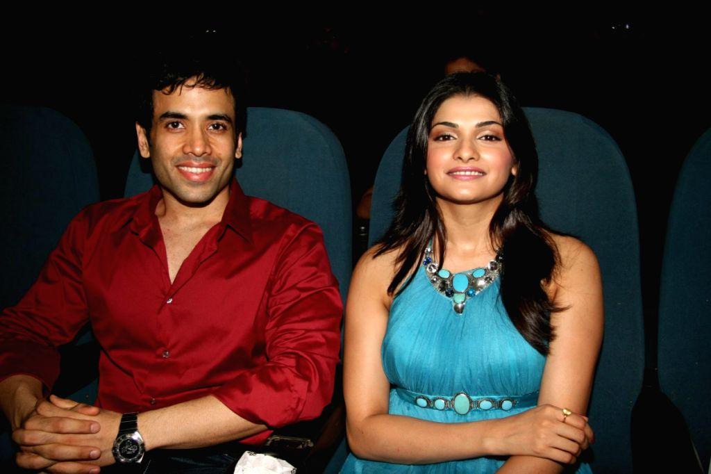 Prachi Desai and Tushar Kapoor at Arohi Film Festival at Fun.