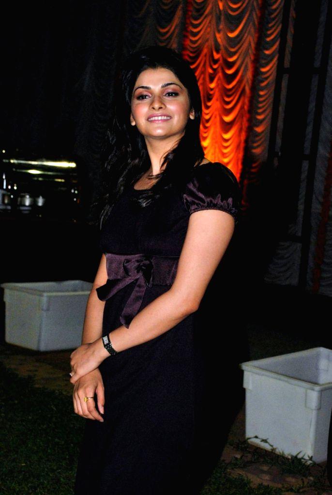 Prachi Desai at glagna.com a matrimonial site for Gujaratis at Sahara Star in Mumbai.