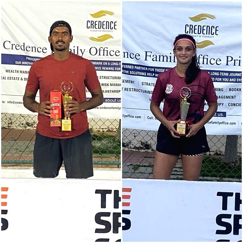 Prajwal, Soha bag titles at AITA Men???s and Women???s Championship (Credit : AITA)