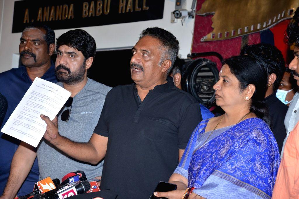 Prakash Raj Press conference on MAA Elections
