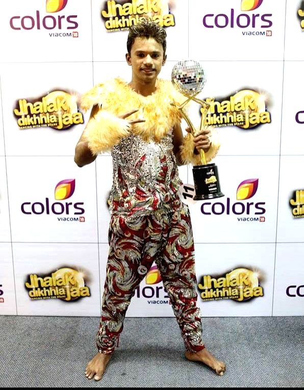 Pranav Pradeep during `Jhalak Dikhhla Jaa UAE Season 3` grand finale at the Sheikh Rashid Auditorium, Indian High School in Dubai on June 24, 2014.