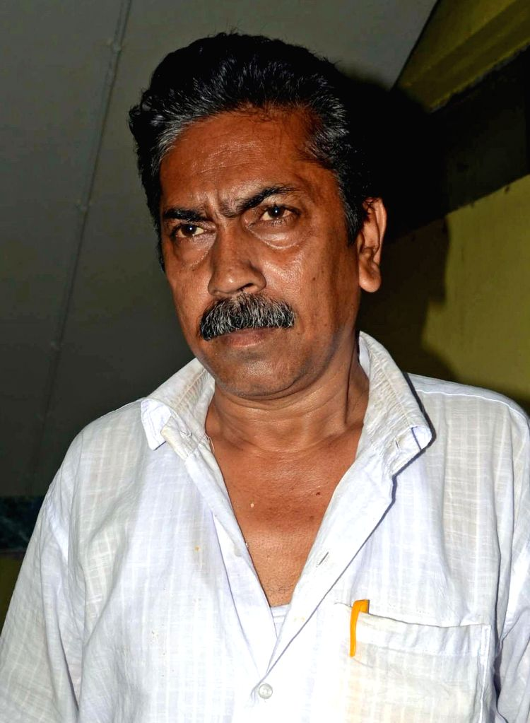 Prasanta Pramanik arrives to appear before CBI in connection with multi-crore-rupee Saradha chit fund scam in Kolkata on Sept 8, 2014.