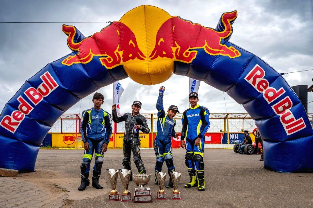 Prashant, Aditi, Ikshan and Aryan participate in the Red Bull Road to Rookies Cup.