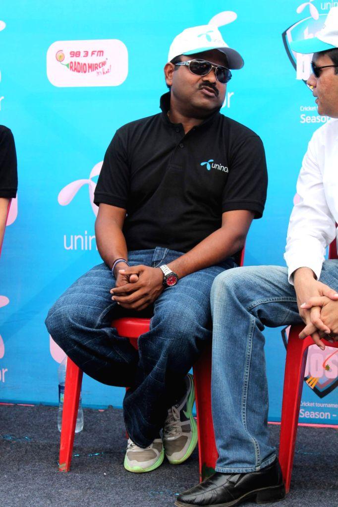 Pravin Amre at Box Cricket Finale, Box Ka Boss at Lalit Kal Bhavan.