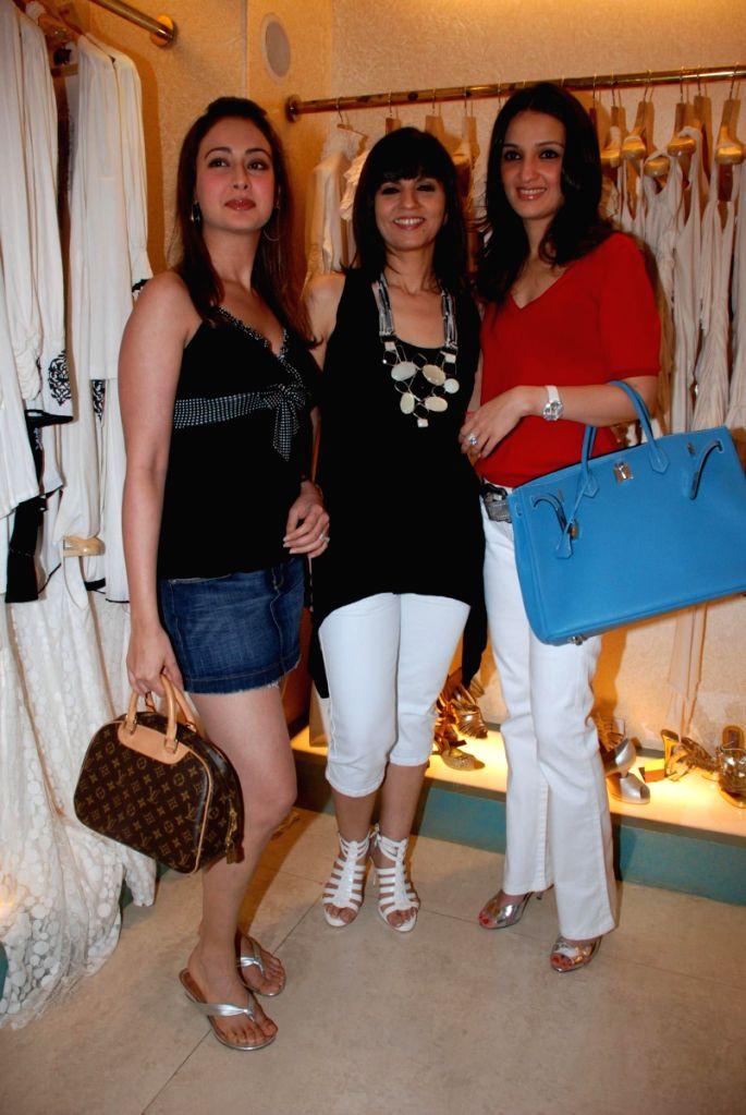 Preeti Jhangiani at Neeta Lulla's Store in Mumbai.