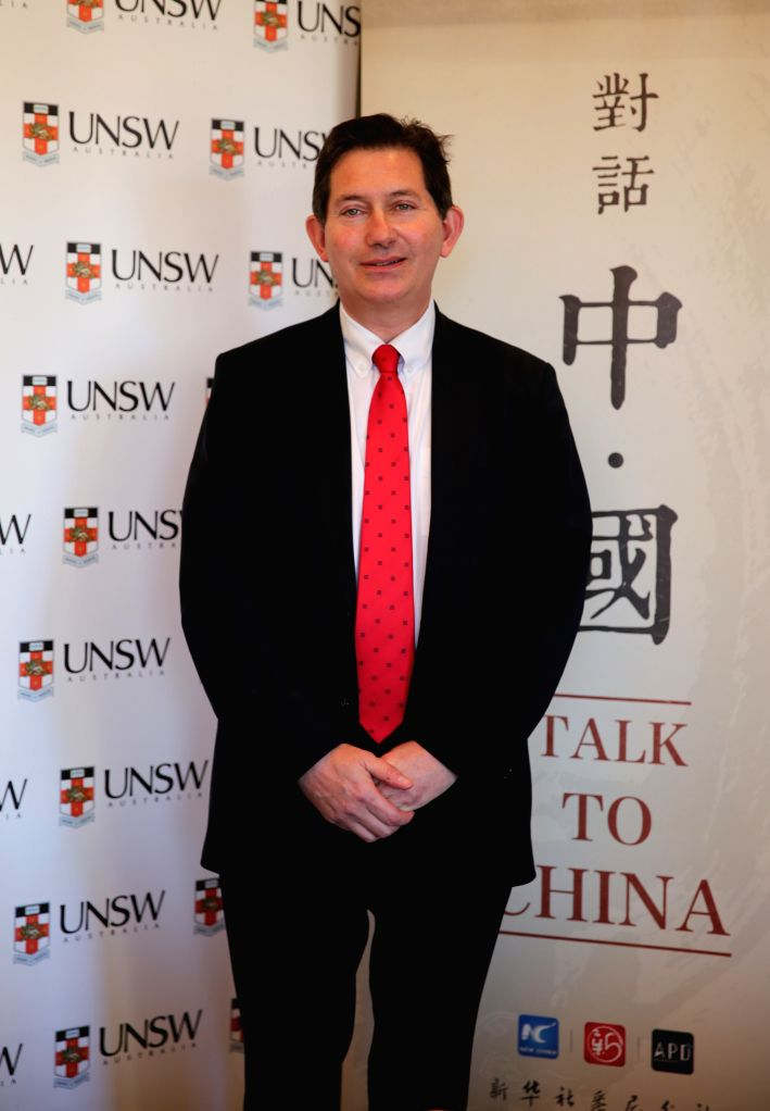President and Vice Chancellor of University of New South Wales Professor Ian Jacobs poses for a photo during an interview at his office in Sydney, Australia, Aug. ...