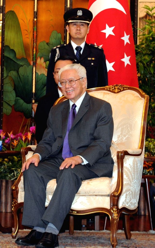 President of Singapore Tony Tan. (File Photo: IANS)