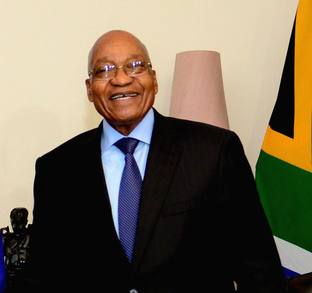 President of South Africa Jacob Zuma. (File Photo: IANS)