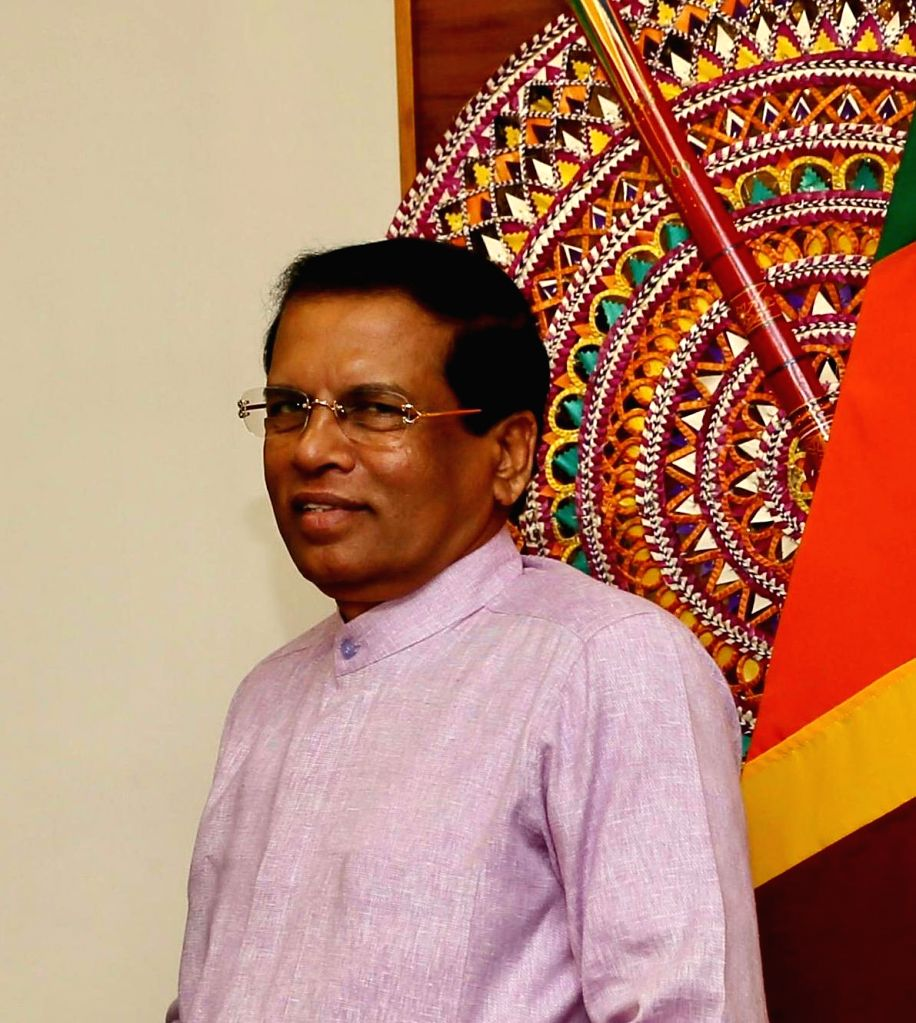 President of Sri Lanka Maithripala Sirisena. (File Photo: IANS)