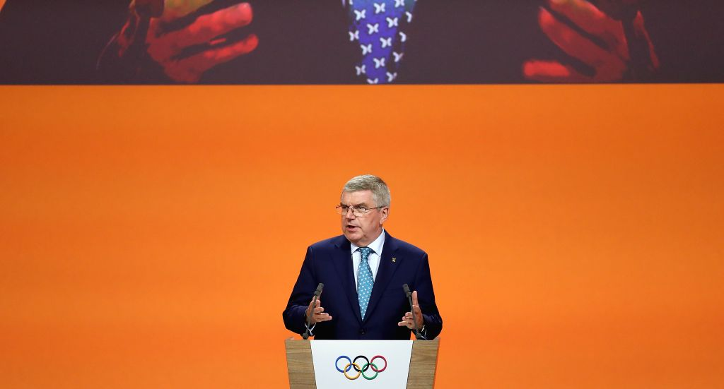 President of the International Olympic Committee (IOC) Thomas Bach. (Xinhua/Cao Can/IANS)
