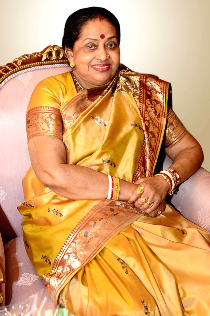 President Pranab Mukherjee`s wife Suvra Mukherjee died, in New Delhi on Aug 18, 2015. (File Photo: IANS/RB) - Pranab Mukherjee