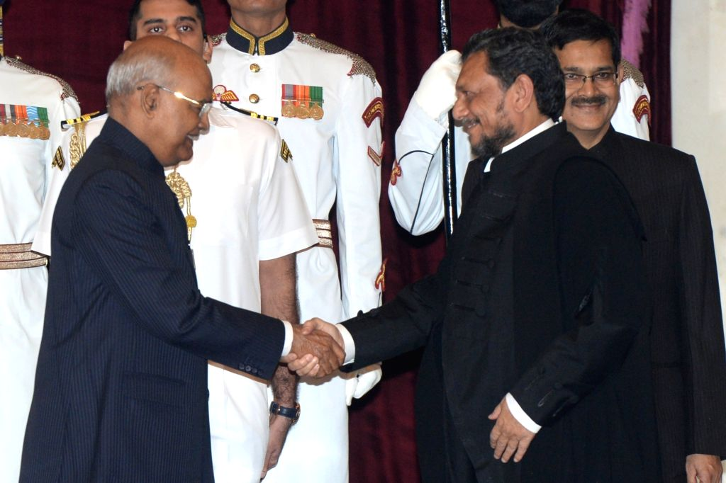 President Ram Nath Kovind administered the oath of office of Chief Justice of India to  Justice Sharad Arvind Bobde at Rashtrapati Bhavan in New Delhi on Nov. 18, 2019. - Nath Kovind