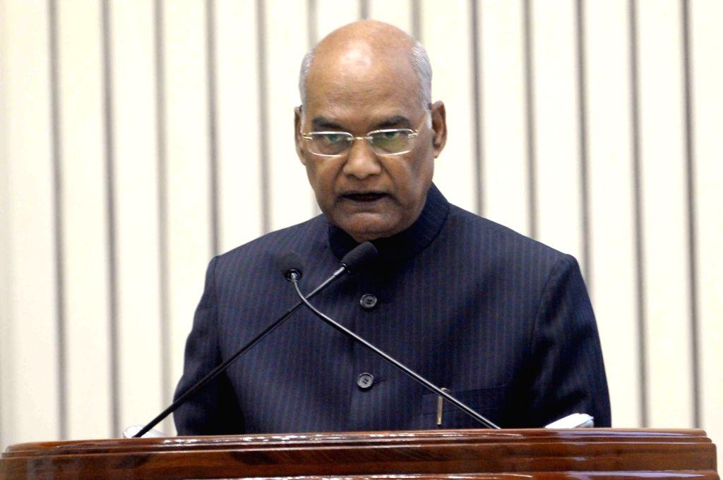 President Ram Nath Kovind. (Photo: IANS) - Nath Kovind