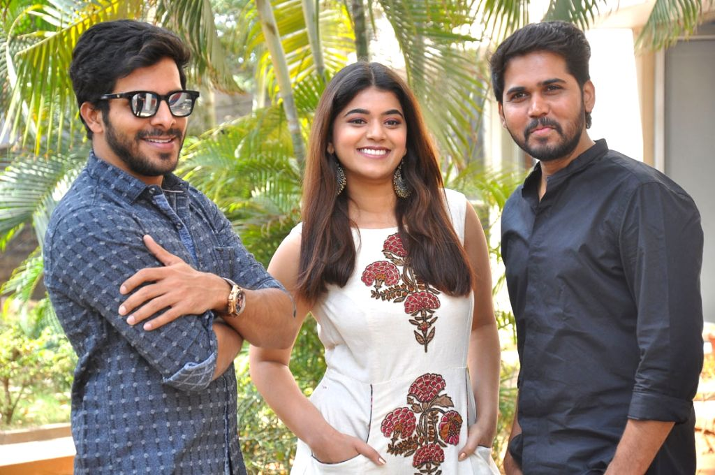 "Press meet of film ""Bhale Manchi Chowka Beram""."