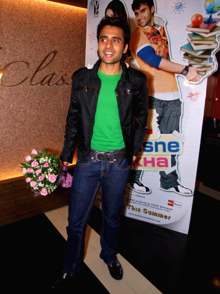 "Press meet of movie ""Kal Kisne Dekha"" at Fame, in Mumbai."
