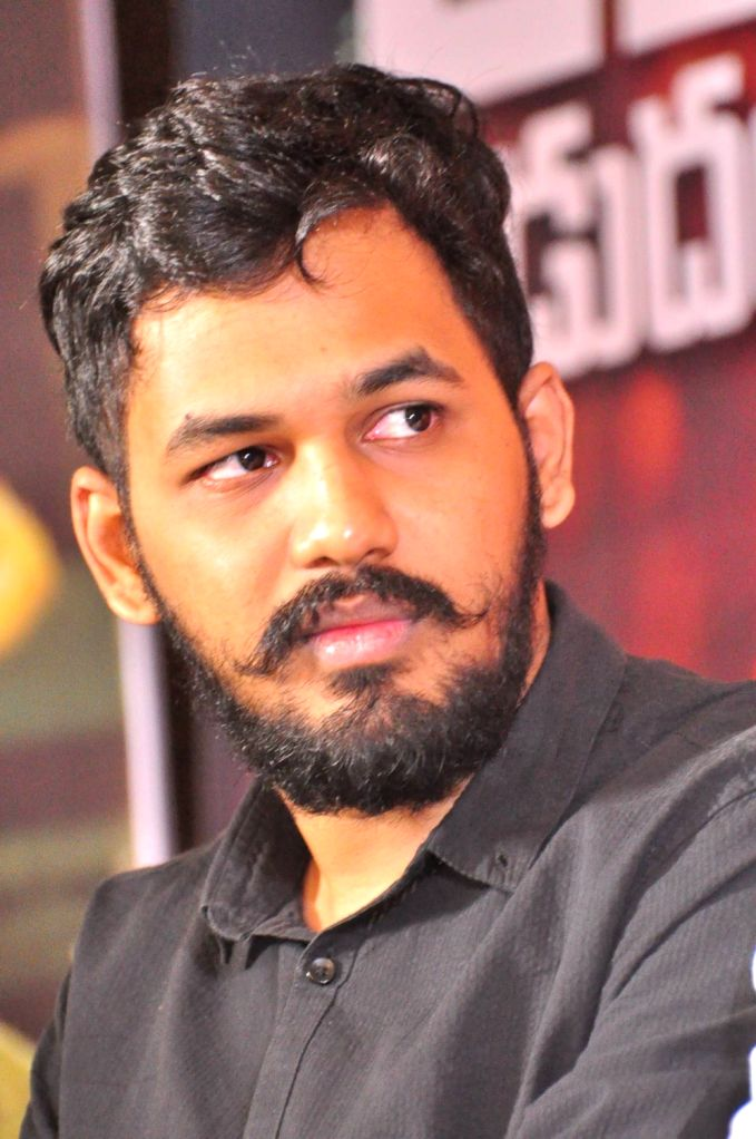 Press meet of Telugu film `Kathakali`.