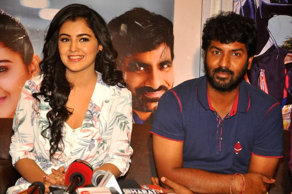 Press meet of Telugu film Nela Ticket.