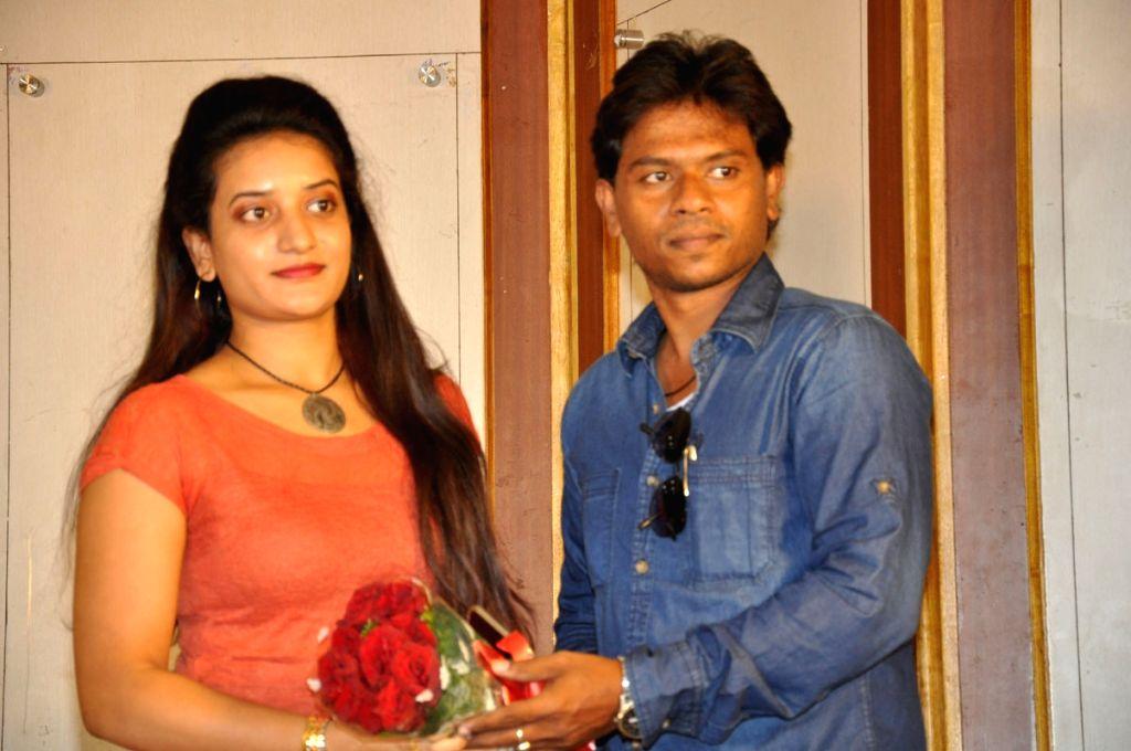 Press meet of Telugu film `Premika Movie` .