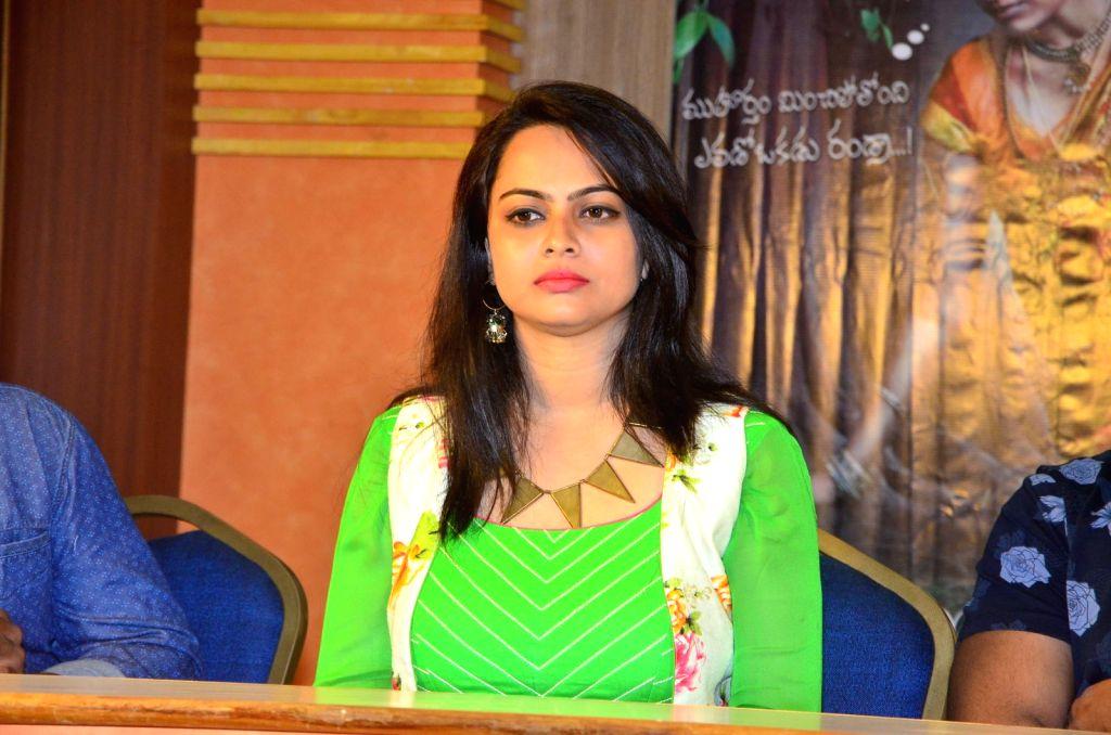 Pressmeet of Telugu film Athharillu in Hyderabad on Sept 17, 2016.