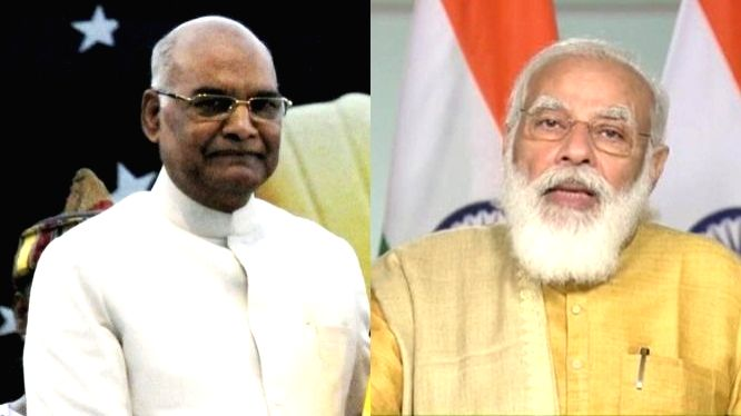 Prez, PM Modi greet nation on Diwali.