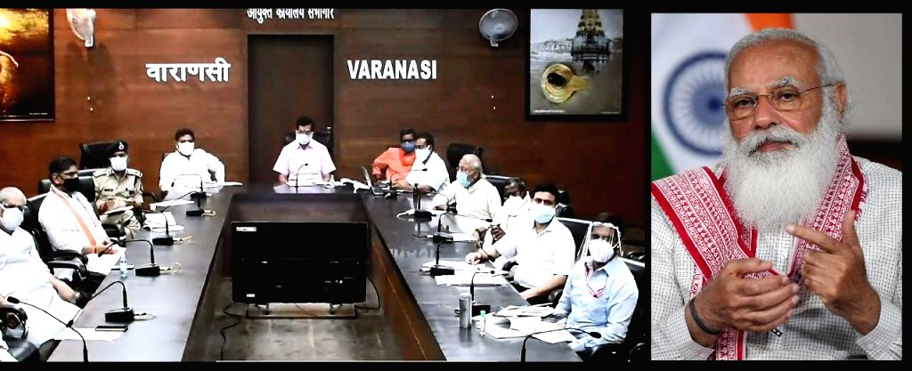 Prime Minister Modi emphasizes on increasing beds, ICUs and oxygen in Parliamentary constituency Varanasi. - Modi