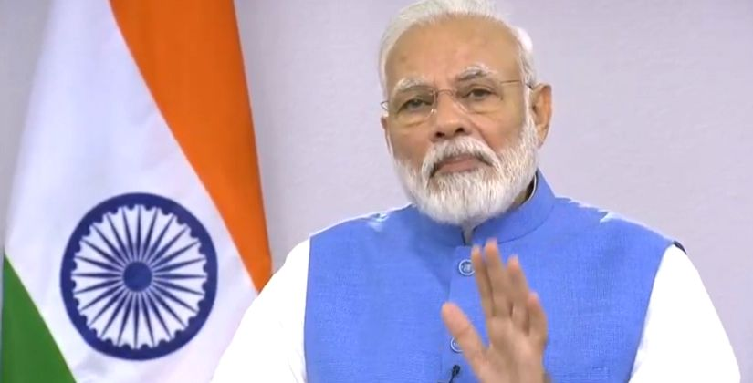 Prime Minister Narendra Modi addressed the nation and urged all Indians not to be complacent at faring better in containing the virus outbreak. - Narendra Modi