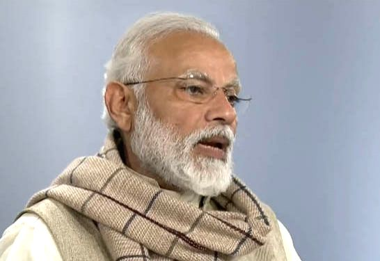 Prime Minister Narendra Modi addresses after laying the foundation stones of five Integrated Command and Control Centres (ICCC) of Smart City Projects in five cities in three northeastern ... - Narendra Modi