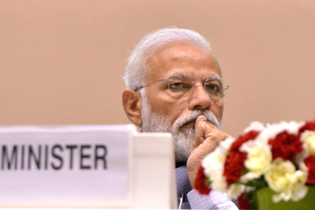 Prime Minister Narendra Modi at Construction Technology India 2019, in New Delhi on March 2, 2019. - Narendra Modi