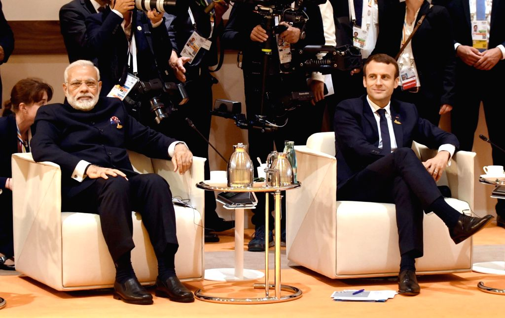 Prime Minister Narendra Modi at G-20 ers' Retreat Meeting, at Hamburg, Germany on July 7, 2017. - Narendra Modi