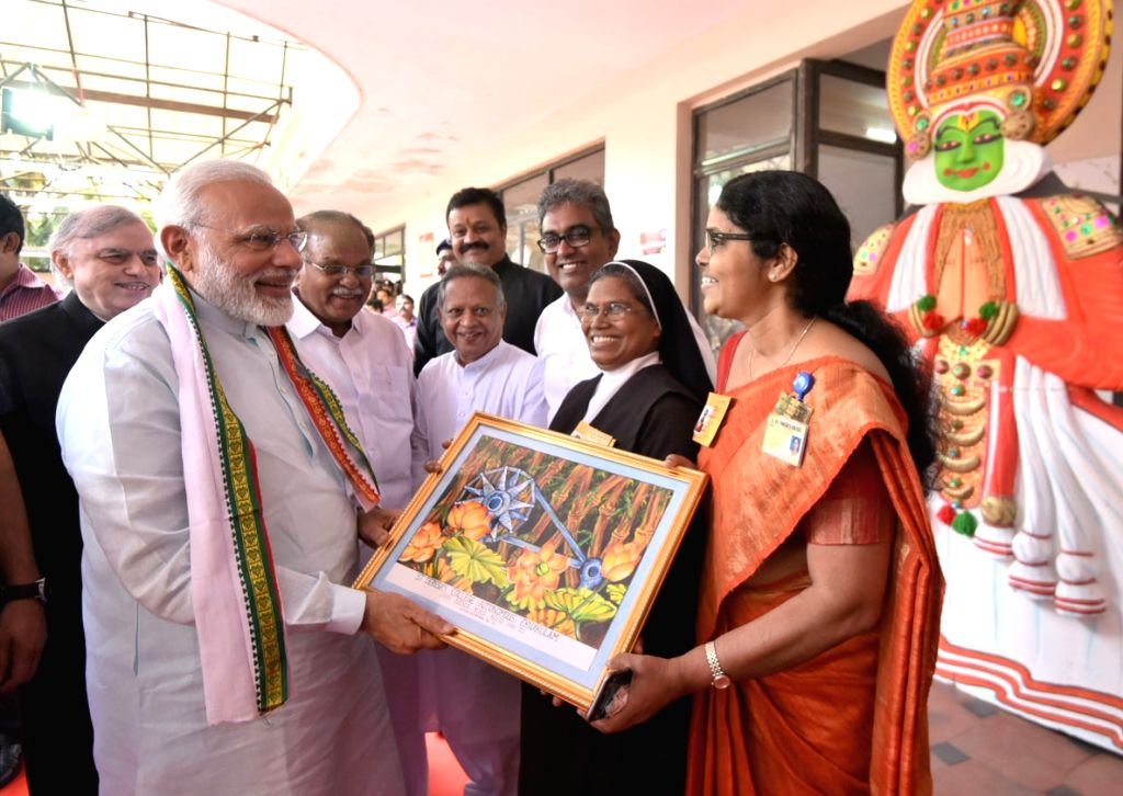 Prime Minister Narendra Modi at the launch of the PN Panicker Reading Day - Reading Month celebration in Kerala on June 17, 2017. Also seen Kerala Governor Justice (Retd.) P Sathasivam and ... - Narendra Modi