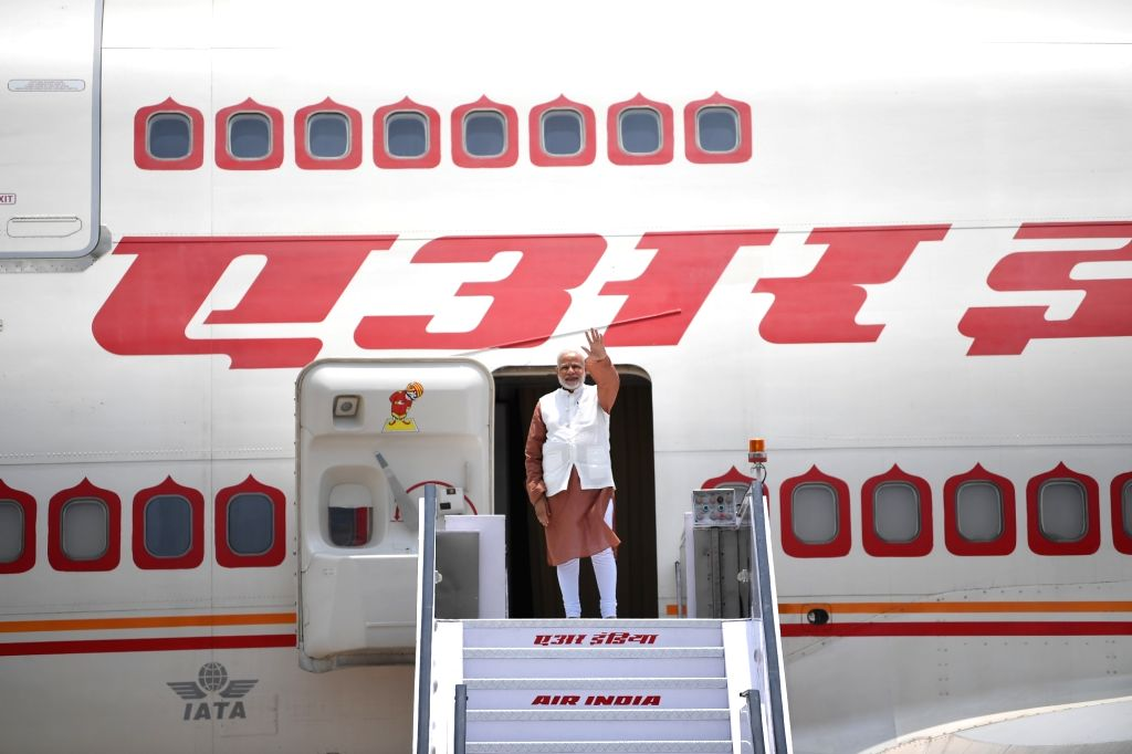 Prime Minister Narendra Modi departs for a 5-day visit to Indonesia, Malaysia and Singapore, from New Delhi on May 29, 2018. - Narendra Modi