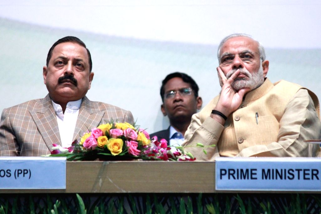 Prime Minister Narendra Modi during an interactive session of assistant secretaries (IAS officers of 2013 batch), in New Delhi on Nov 19, 2015. - Narendra Modi