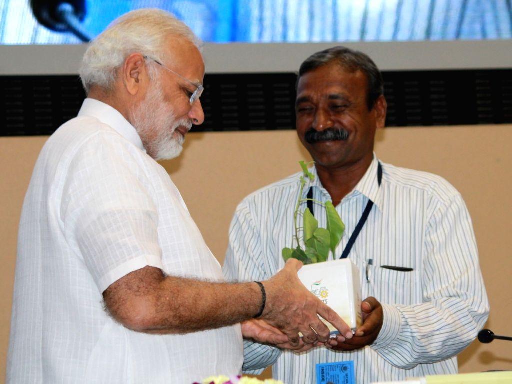 "Prime Minister Narendra Modi during ""The New India Conclave"" in New Delhi on July 16, 2018. - Narendra Modi"