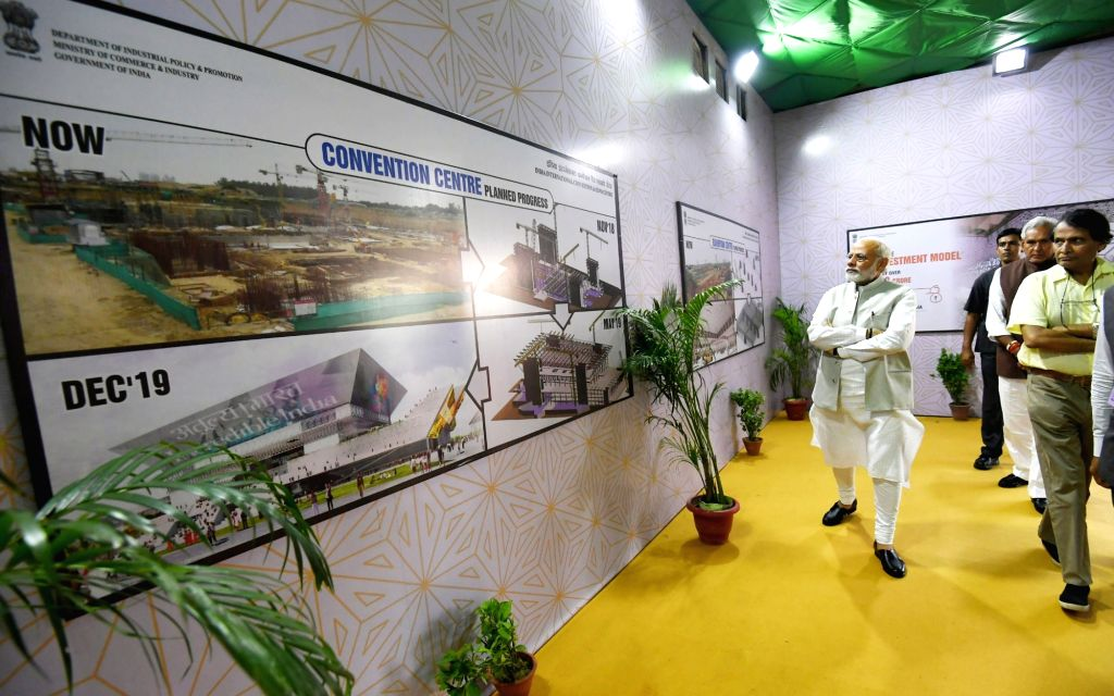 Prime Minister Narendra Modi, Union Commerce and Industry and Civil Aviation Minister Suresh Prabhakar Prabhu, Union MoS Housing and Urban Affairs Hardeep Singh Puri and the Department of ... - Narendra Modi and Suresh Prabhakar Prabhu