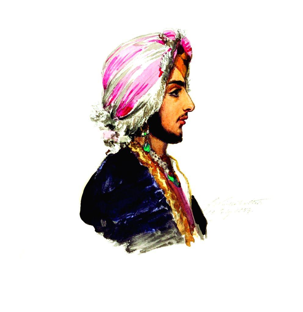 Prince Duleep Singh by Franz Winter Halter. (Photo Source: Hubris Foundation) - Duleep Singh