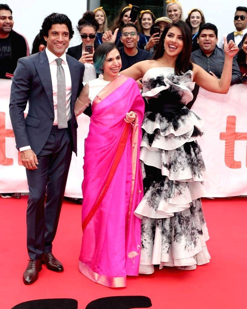 Priyanka Chopra and Farhan Akhtar. - Farhan Akhtar and Priyanka Chopra