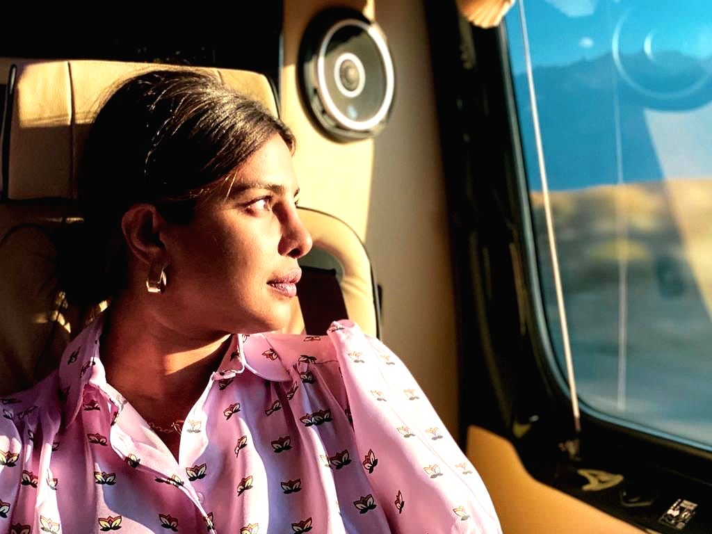 Priyanka Chopra channels her inner 'wanderlust' in latest post. - Priyanka Chopra