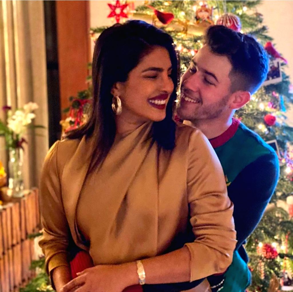 Priyanka Chopra is super excited with her new Christmas present! Hubby Nick Jonas has gifted her a snowmobile on Christmas and the actress can't stop flaunting it! - Priyanka Chopra