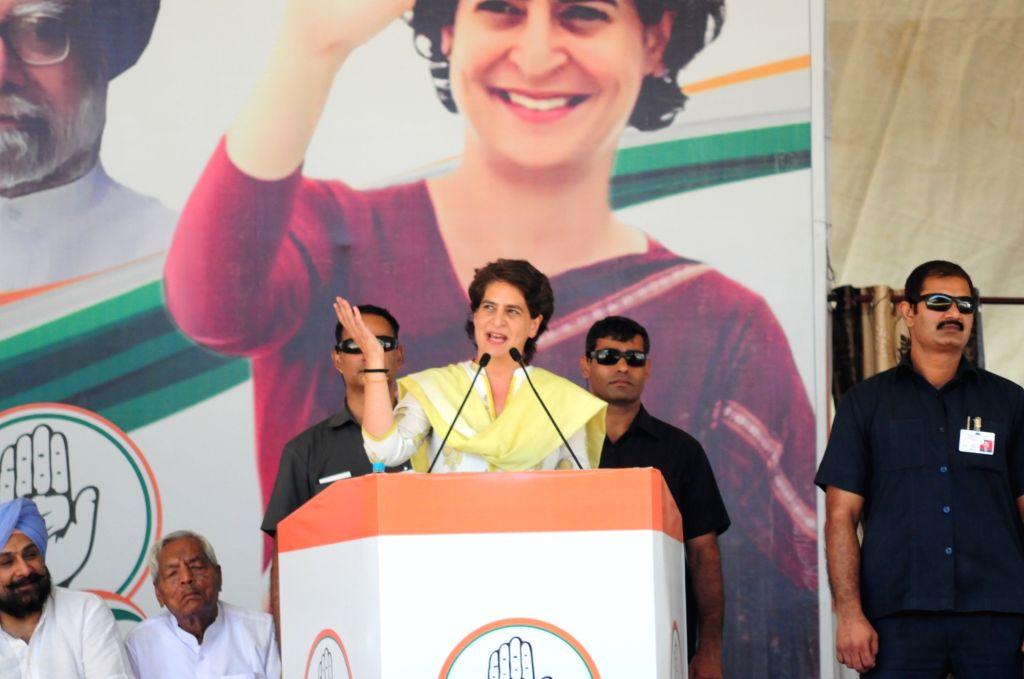 Priyanka Gandhi Vadra. (Photo: IANS) - Priyanka Gandhi Vadra
