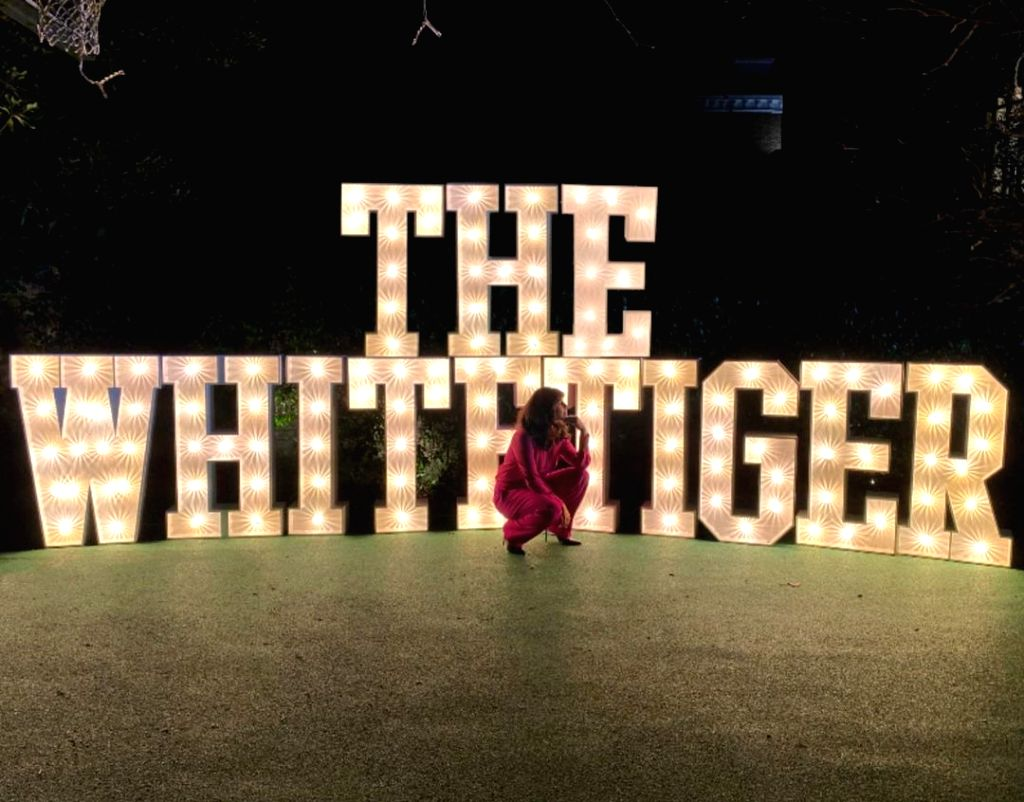 Priyanka thanks fans for 'opening weekend' support to 'The White Tiger'.(photo:instagram)