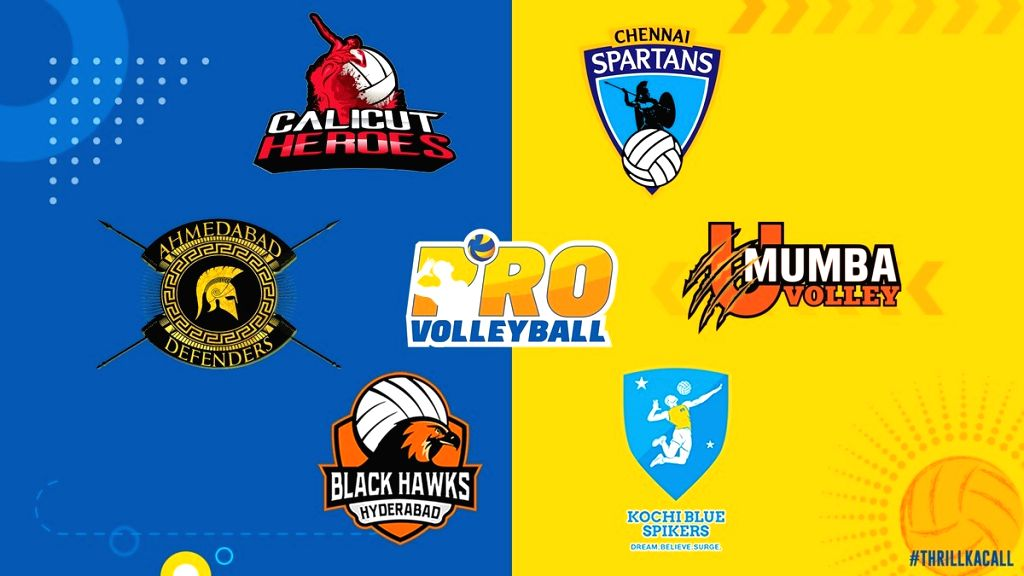 Pro Volleyball League. (Photo: Twitter/@ProVolleyballIN)